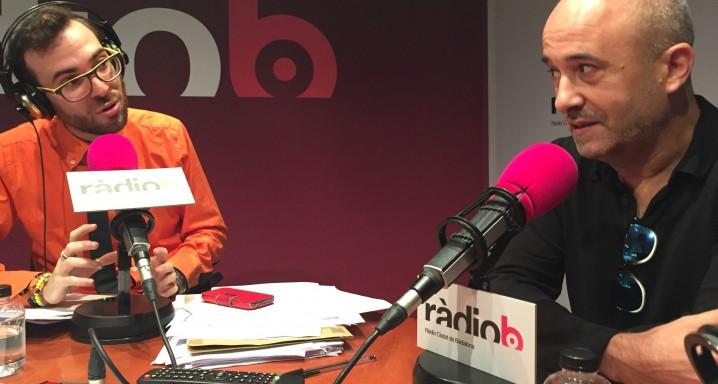 20161107 Felipe Yagüe ràdio Ciutat de Badalona